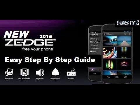 The New ZEDGE APP. How To Get Free iPhone Ringtones. [HD]