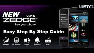 The New ZEDGE APP. How To Get Free iPhone Ringtones. [HD]