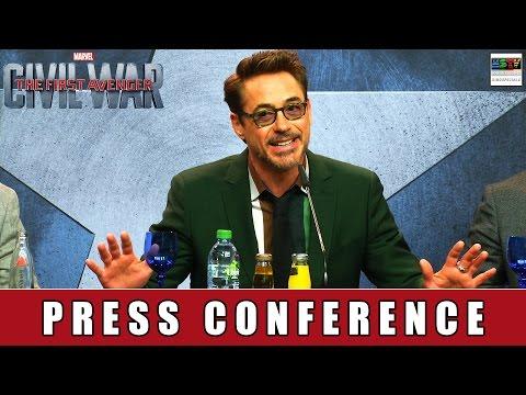 The First Avenger: Civil War - Press Conference Berlin