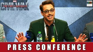 The First Avenger: Civil War - Press Conference Berlin