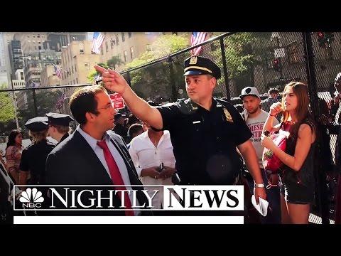 Pope Francis Frenzy Takes Manhattan Amid Unprecedented Security | NBC Nightly News