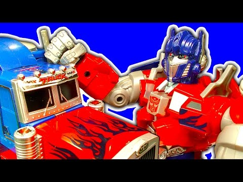 Transformers Optimus Prime Collection Pt1 Classic Robots In Disguise Toys