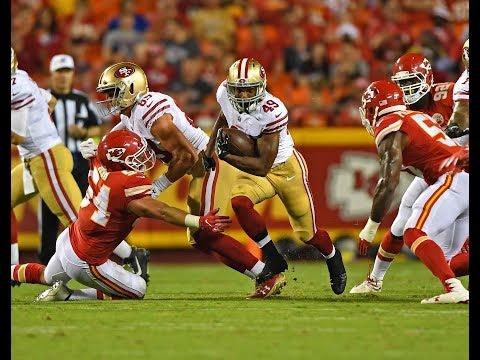 Matt Breida vs Chiefs (Preseason Week 1) - 54 Yards! | 2017-18 NFL Highlights HD