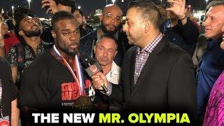 BRANDON CURRY MR. OLYMPIA WINNER INTERVIEW!