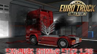 This mod modifies the original and adding smoke  Therefore mod smoke are for the following trucks: DAF XF 105 DAF XF EURO 6 Iveco Stralis Iveco Stralis Hi-Way MAN TGX Mercedes-Benz Acsros Mercedes-Benz 2014 Acsros Renault Magnum Renault Premium Scania R S