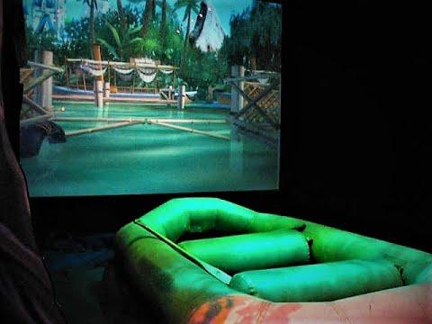 Angel Studios' Virtual Jungle Cruise Amusement Ride at DisneyQuest