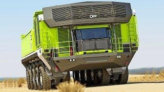 اكبر 7 شاحنات عملاقة في العالم \