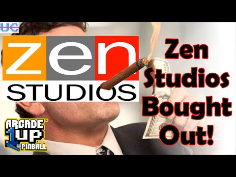 Zen Studios, Company Behind Arcade1up Pinball, Gets Bought Out! What's The Future For Their Pinball? from Unqualified Critics