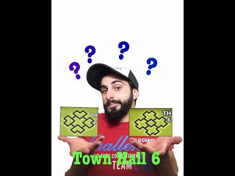 Clash Of Clans Greek~Town Hall 6~Live War Attack~By Bodrini