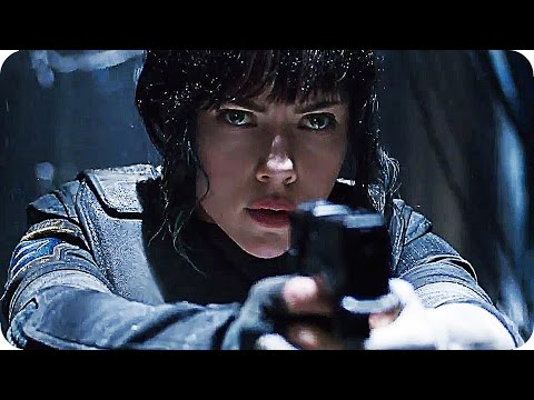 GHOST IN THE SHELL Teaser Trailer 1-5 (2017) Scarlett Johansson Movie