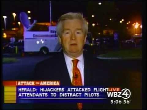 9/11 News Sept 12 2001 CBS Boston Coverage 500 am to 530 am WSBK News
