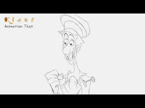 Klaus - Animation Test