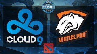 Dota 2 - Cloud9 vs. Virtus.Pro - ESL One Frankfurt 2015 - Seeding Match