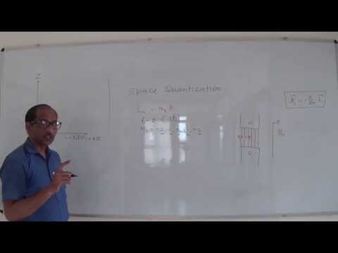 Space Quantization and Atomic Dipole Moment