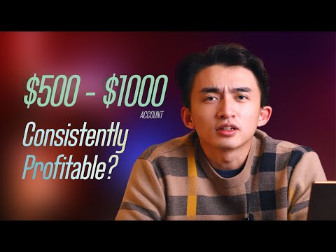 How to stay consistently profitable with a SMALL trading account