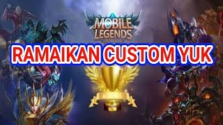 500 SUBSCRIBE GUE ADAIN GIVEAWAY || LIVE MOBILE LEGEND