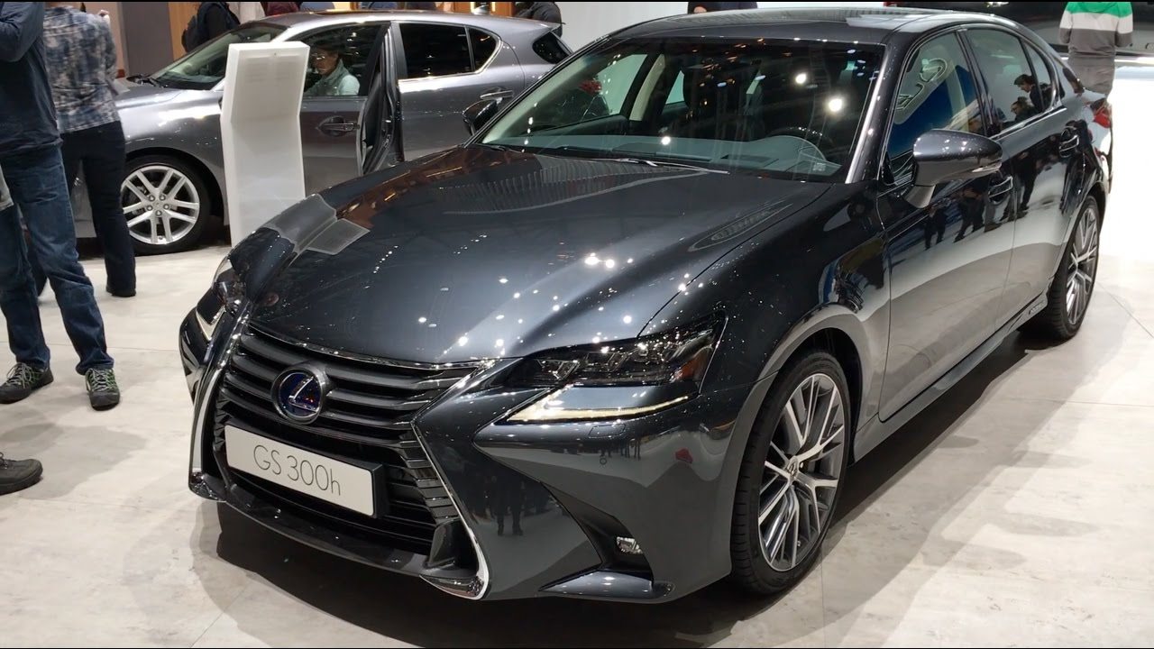 Lexus Gs 300h 2017 In Detail Review Walkaround Interior Exterior