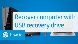 How to Recover Your HP Computer with a USB Recovery Drive | HP Computers | HP