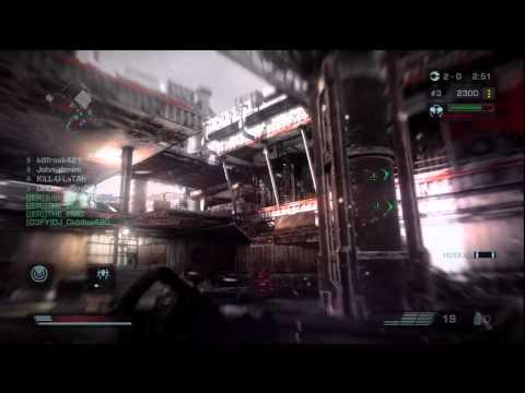 Killzone 3 Online ER Warzone 70 snowdrift shutout 5192011
