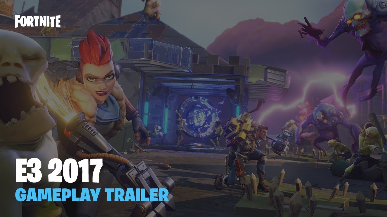 Fortnite E  Gameplay Trailer