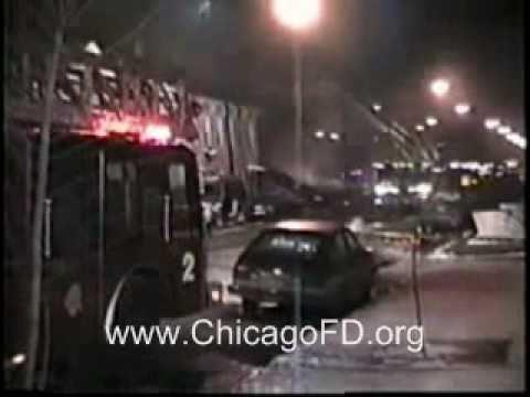 Chicago Fire Dept - Racine & Milwaukee Gas Expl. 4-11 Alarm 1-17-1992
