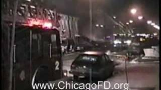 vuclip Chicago Fire Dept - Racine & Milwaukee Gas Expl. 4-11 Alarm 1-17-1992