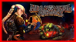 Heavy Metal Machines First Look Gameplay and Impressions