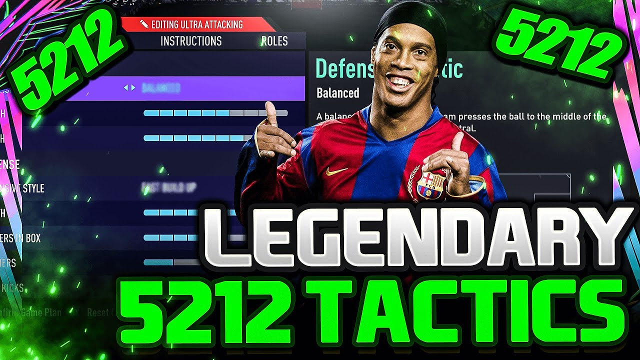 Download FIFA 21 | *LEGENDARY* 5212 BEST CUSTOM TACTICS/INSTRUCTIONS (UPDATED!) - FIFA 21 ULTIMATE TEAM