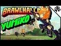 Diamond Ranked Yumiko 1v1's - Brawlhalla Gameplay :: Practicing Throws!