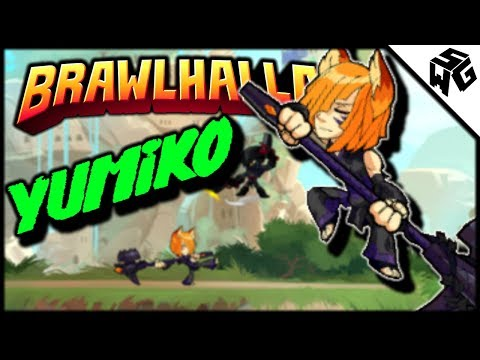 Diamond Ranked Yumiko 1v1's - Brawlhalla Gameplay :: Practicing Throws!