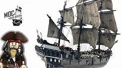 Lego pirate ship MOC : Black Pearl. Speed Build