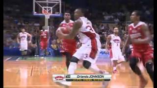 Orlando Johnson dunk (ginebra vs kia) may 13,2015