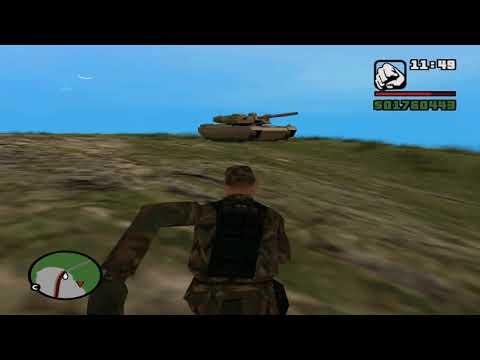 Освобождение Лачин от армян( мод GTA San Andreas)