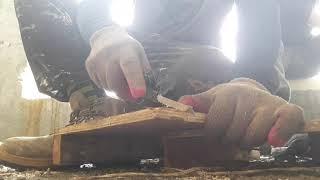 목재 절단  Wood cutting