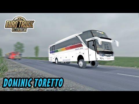 GANAS !!! Baru Rilis Bus Sinar Jaya Jetbus 3 SHD, Suara Mesinnya Menggelegar - ETS2 MOD INDONESIA - 동영상