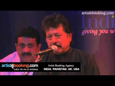 Attaullah Khan's First Ever Live Show in INDIA Organised by artistebooking.com