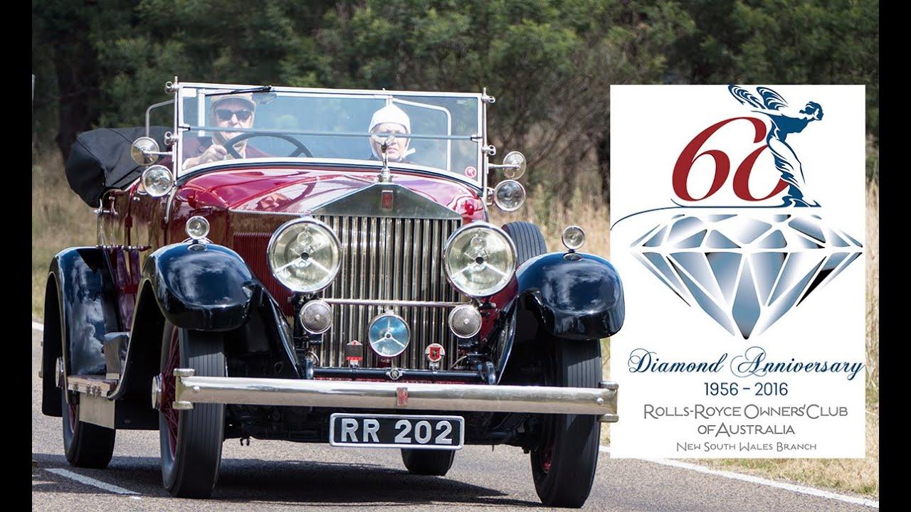 Rolls-Royce Owners Club (NSW) commemoration run