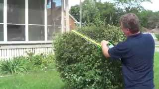 Cordless Hedge Trimmer - Most Powerful Cordless Hedge Trimmer