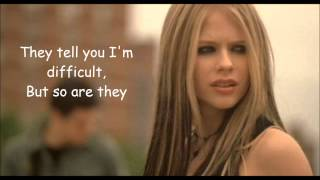 My Happy Ending - Avril Lavigne Lyrics