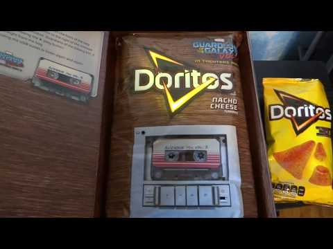Doritos Guardians of the Galaxy Vol.2 Soundtrack Music Bag Limited :UnBoxing