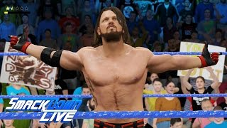 AJ Styles Neuer ROTER Kleidung 05/25/17 Smackdown Live - WWE 2K17