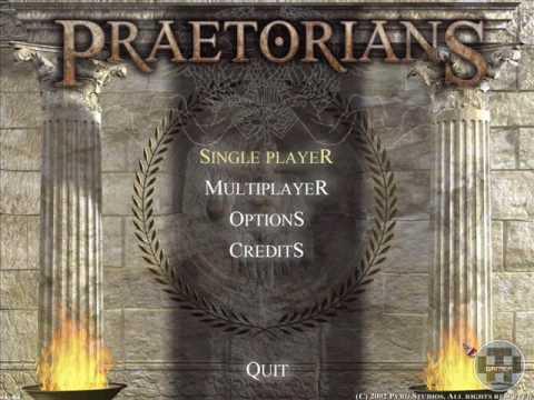Praetorians Themes - Main Menu