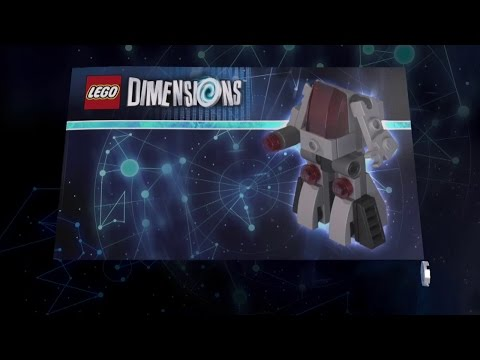 Lego Dimensions Cyborg Vehicle Instructions - Cyber-Guard, Cyber-Wrecker, Laser Robot Walker