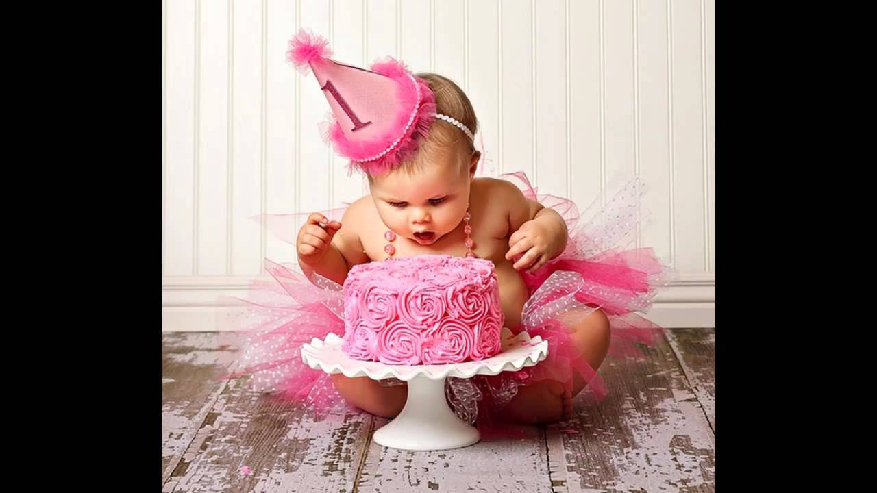 Beautiful Baby Girl First Birthday Party Decorating Ideas