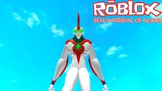 QDB - Roblox Ben 10 Arrival of Aliens - 1, 2, 3 Testando!!! (GAMEPLAY PT-BR)