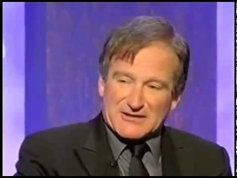 ROBIN WILLIAMS Explains Golf 2002