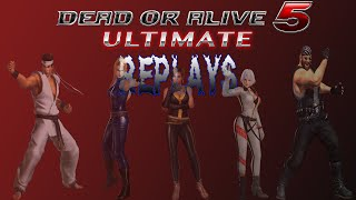 DOA5U Replay 901: o Maleficent o(Jann Lee) vs CrazySteady(Tina)