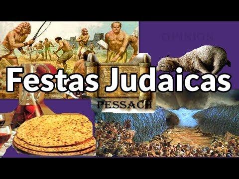As 7 FESTAS JUDAICAS E Seus Significados