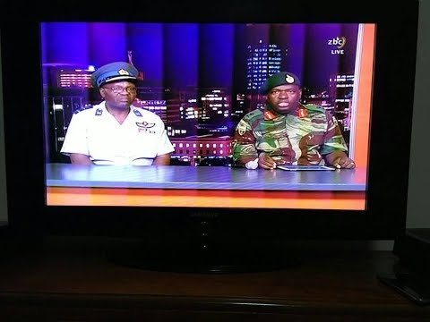 Lattest Chiwenga midnight broadcast at ZBC.
