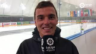 Jordi Xammar se atreve con el Mundial de Hockey Hielo